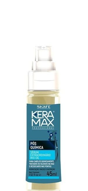 Skafe Sérum Extraordinário Mix Oil Keramax Pós Química 45ml
