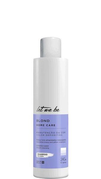 Let Me Be Blond Home Care Shampoo Matizador 240g