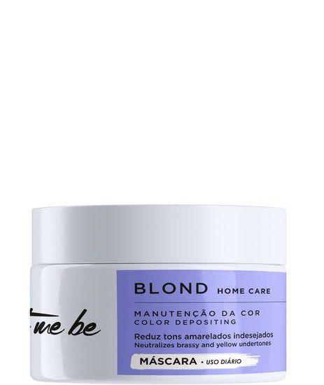 Let Me Be Blond Home Care Máscara Matizadora Cabelos Loiros 250g