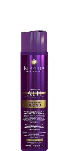 Rubelita Progressiva P/ Loira One Step Blond Sem Formol 300ml