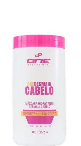 One Professional Desmaia Cabelo Máscara Hidratante 1kg