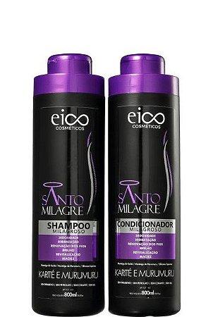 Eico Santo Milagre Shampoo e Condicionador Milagroso 2x800ml