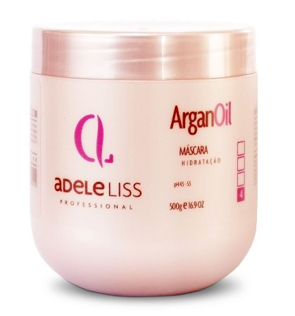 Adele Liss Máscara Argan Oil Hidratação Profunda 500g