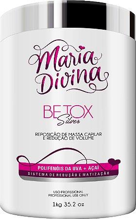 Botox Silver Matizador Maria Divina Polifenóis da Uva+Açai 1kg