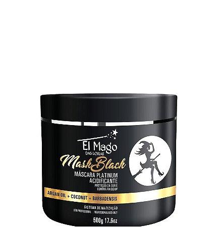 El Mago Das Loiras Máscara Acidificante Black 500g