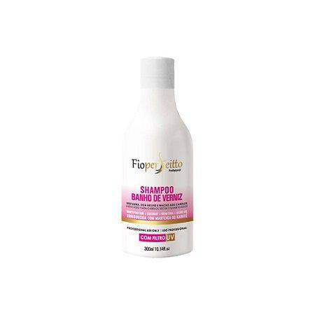 Shampoo Banho de Verniz Fio Perfeitto Hidratação e Brilho 300ml