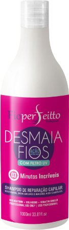 FioPerfeitto Desmaia Fios Reparação Instantânea Shampoo 1000ml
