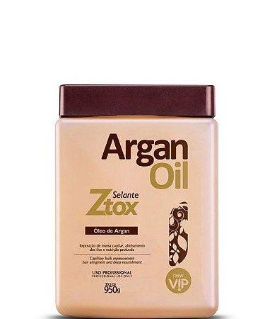 Ztox Botox Capilar Selante Vip Argan 950g + Brinde