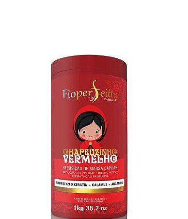 Melhor Btox para Cabelos Vermelhos Chapeuzinho Vermelho FioPerfeitto 1kg