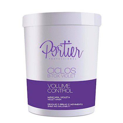 Portier Ciclos Btx Capilar B-tox Violeta Matizador Volume Control 1kg + Brinde