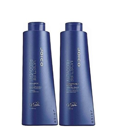 Joico Kit Moisture Recovery Reparação Kit Shampoo e Condicionador 1 Litro