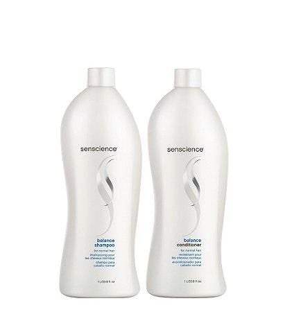 Senscience Balance Kit Shampoo e Condicionador 2x1 Litro Original