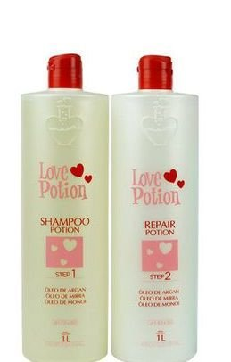Love Potion Escova Progressiva Potion 2x1 Litro + Brinde