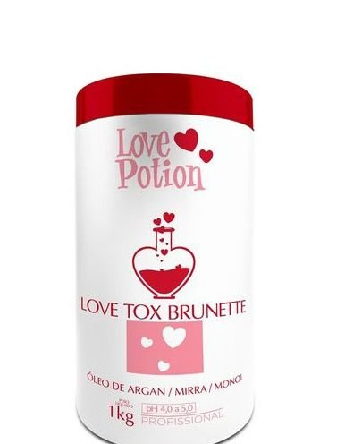 Love Potion Love Tox Brunette Redutor de Volume 1kg