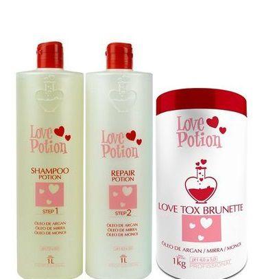 Love Potion Progressiva + Love Tox Brunette 1kg