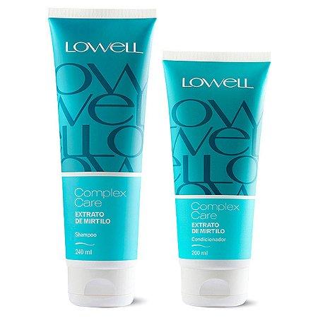 Lowell Mirtilo Complex Care Extrato de Mirtilo Shampoo e Condicionador