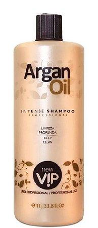 New Vip Argan Oil Intense Shampoo Limpeza Profunda 1Litro OUTLET