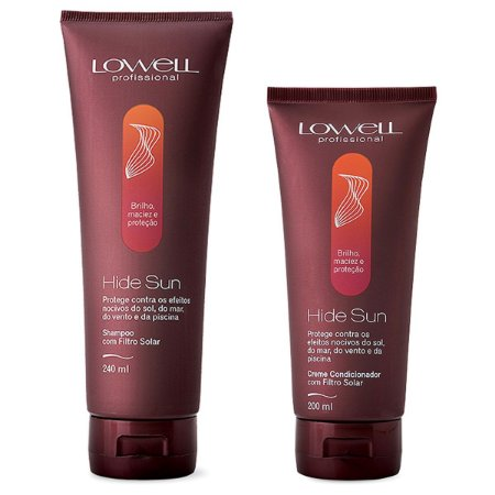Lowell Hide Sun Kit Shampoo 240ml e Condicionador 200ml