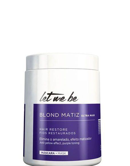 Let Me Be B-Btox Blond Matiz para Loiras ProSalon 1kg + Brinde