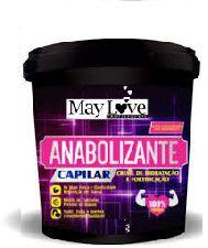 May Love Anabolizante Capilar Hidratação e Fortalecimento 250g