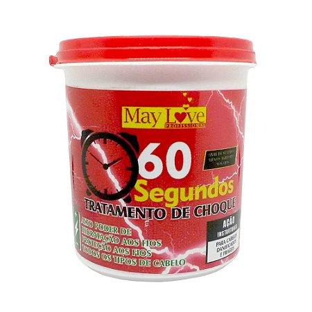 May Love Tratamento de Choque Máscara 60 Segundos 250g