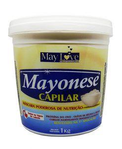 May Love Mayonese Capilar Poderosa Mascara de Nutrição 1kg