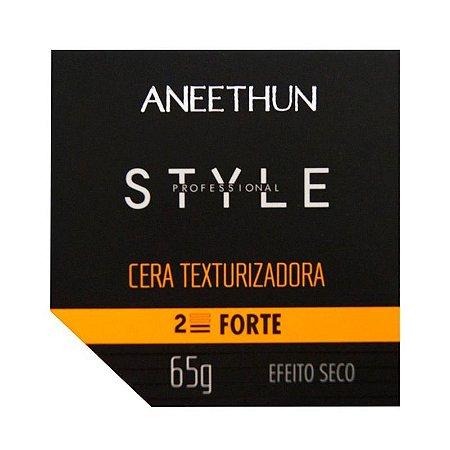 Aneethun Style Cera Texturizadora Força 2 Efeito Seco 65g