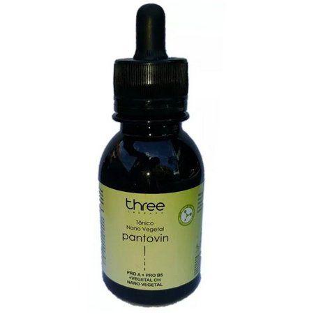 Three Therapy Tônico Vegetal Pantovin Crescimento Capilar 100ml