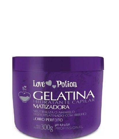 Gelatina Matizadora Love Potion Hidratação Capilar 300g