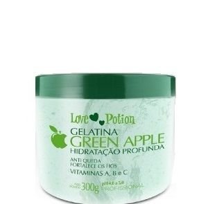 Gelatina Green Apple Love Potion Hidratação Profunda 300g