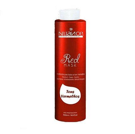 Nuance Mask Red Matizador para Cabelos Vermelhos 500ml