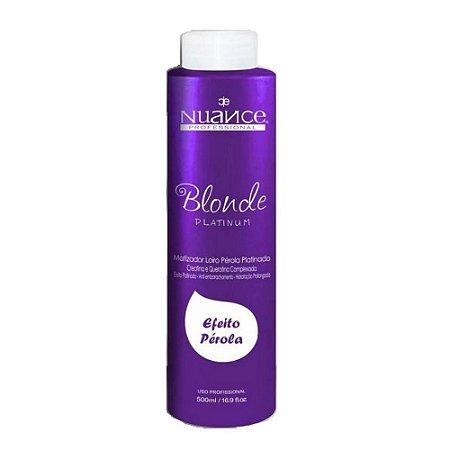 Nuance Mascara Blond Platinum Matizador Efeito Perola 500ml