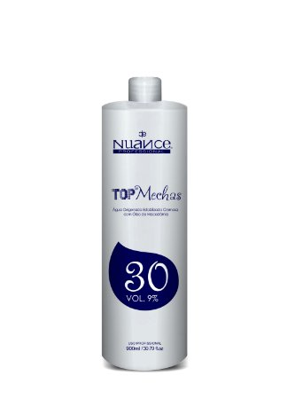 Nuance Agua Oxigenada Top Mechas 30 Volumes 900ml