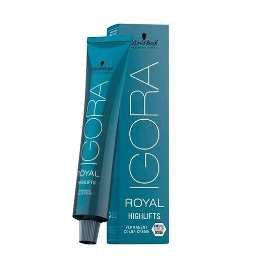 Coloração Igora Royal Highlifts 10.1 Louro Ultra Cinza 60g