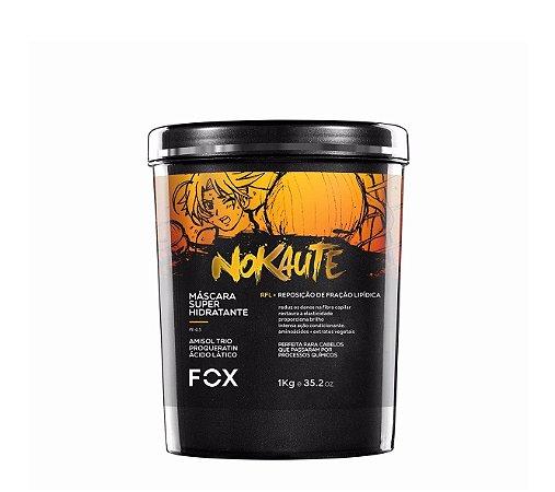 Fox Professional Máscara Hidratante Nokaute Amarelo 1kg