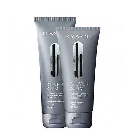 Lowell Matizador Silver Slim Shampoo 240ml Condicionador 200ml