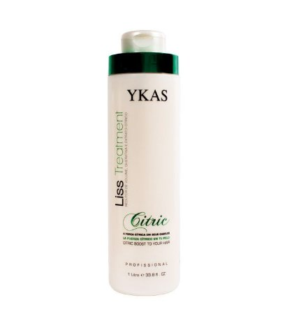 Ykas Liss Treatment Progressiva Citric Redutor de Volume 1litro