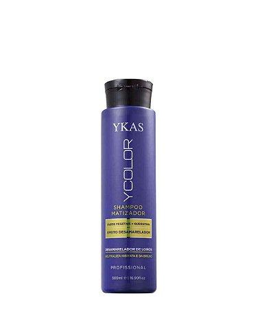 Ykas Shampoo Matizador Ycolor Efeito Desamarelador Neutraliza e Hidrata 500ml