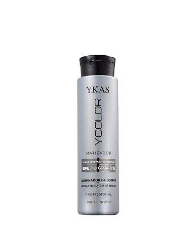 Ykas Ycolor Matizador Efeito Grafite Máscara Matizadora 500ml + Brinde