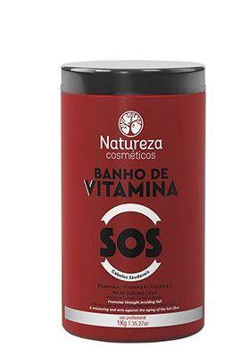 Natureza Cosméticos Banho de Vitamina SOS 1kg + Brinde