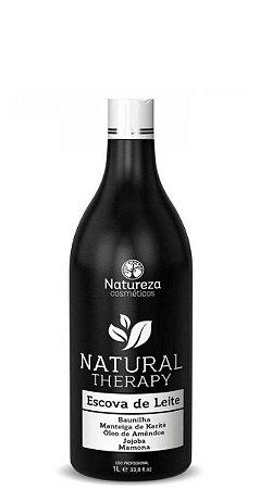 Natureza Cosméticos Escova de Leite Natural Therapy 1litro