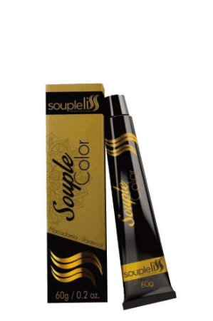 SoupleLiss Coloração Souple Louro Escuro Marrom 6.7 - 60g