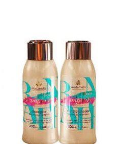 Madamelis Banho de Champanhe Shampoo e Condicionador 2x300ml