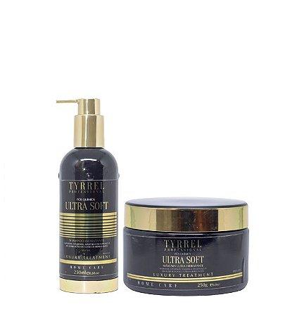 Tyrrel Ultra Soft Manutenção Pós Química Shampoo e Máscara 2x250ml