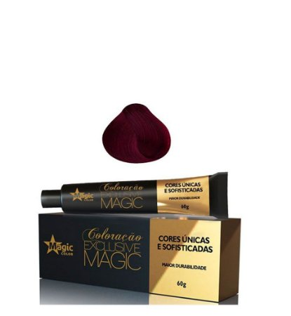 Magic Color Coloração Exclusive Magic Marsala 66.62  - 60g