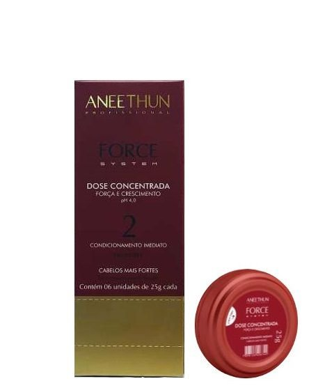 Aneethun Profissional Force System Dose Concentrada 6 Unidades 25g