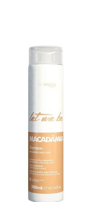 Let Me Be Shampoo Macadâmia Hidratação e Brilho Home Care - 300ml