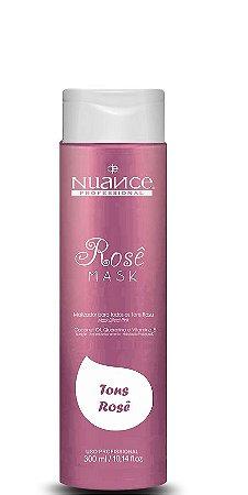 Nuance Máscara Rosê Efeito Tons Rose 300ml