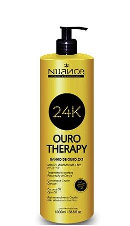 Nuance Ouro Therapy 24K Banho de Ouro 2 em 1