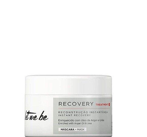 Let Me Be Máscara de Reconstrução Instantânea Recovery Mask 250g + Brinde